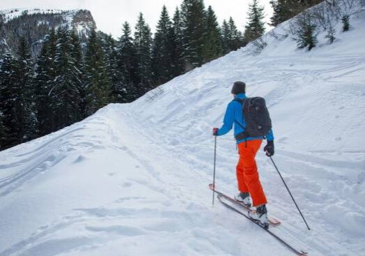 Downhill and Cross Country Skiing